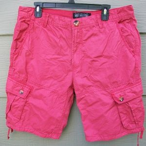 Sunday Work Clothes Mens Cargo Shorts Sz XL 36W